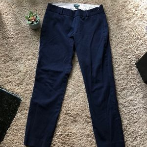 🌸EUC J. CREW ankle length pants